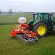 Grassmaster Harrows 6m & Applicator