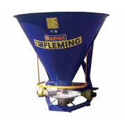Fleming single disc fertiliser salt spreader