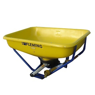 fleming wagtail fertiliser salt spreader