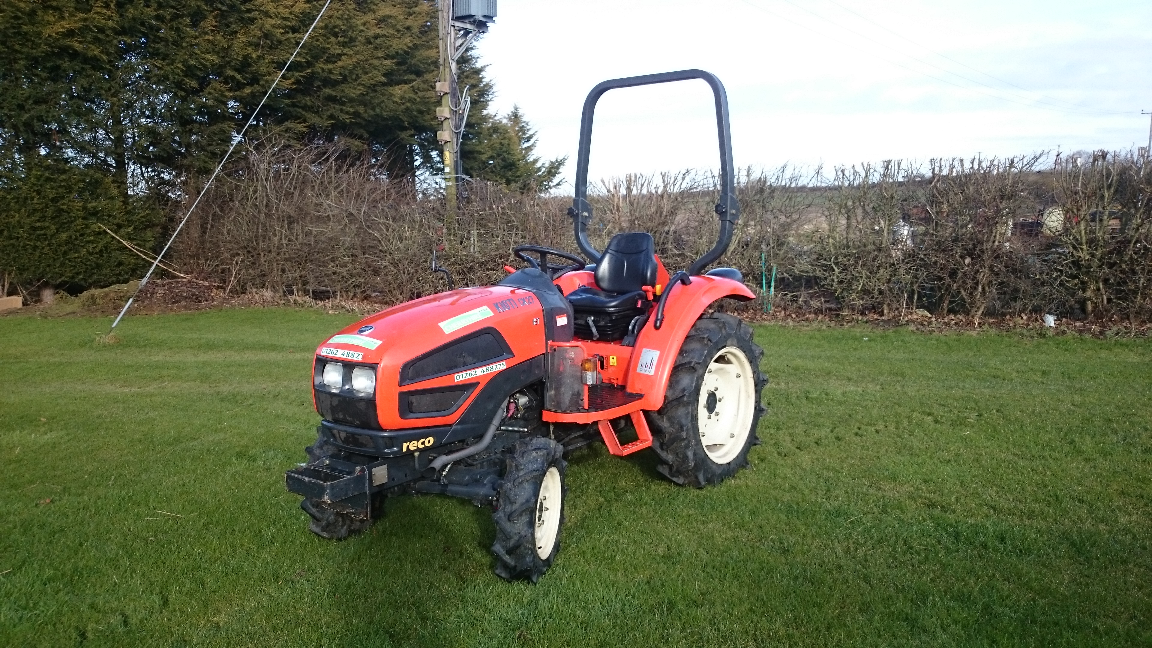 Kioti Compact Tractors : Hire equipment compact tractor cherrys country hardware