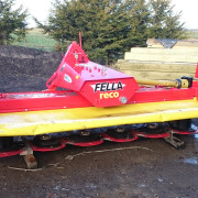 fella sm310 front mounted mower