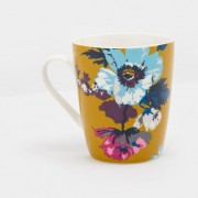 floral cuppa gold